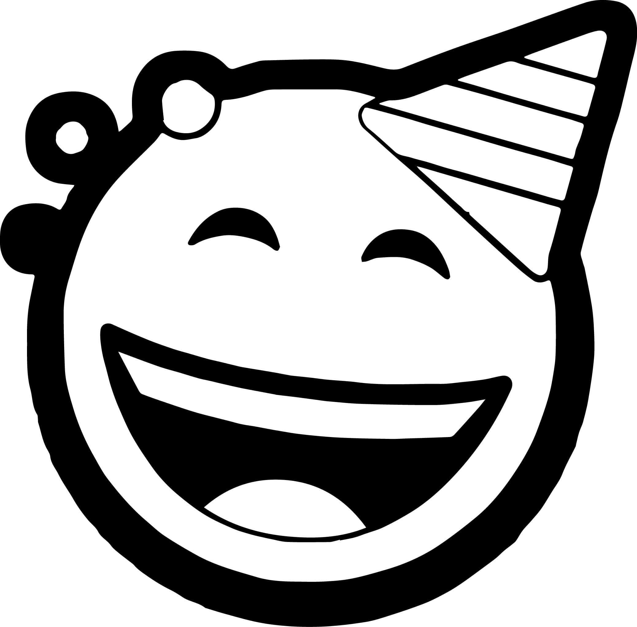 Zum ausdrucken smilies Ausmalbilder Emoji