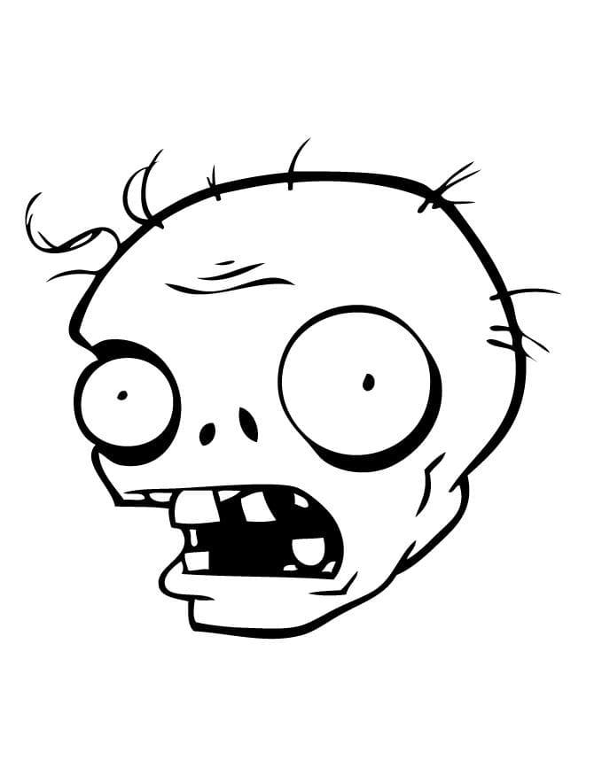 Zombies gegen Pflanzen Ausmalbilder. Drucken Sie es kostenlos aus! Bilder vom Spiel