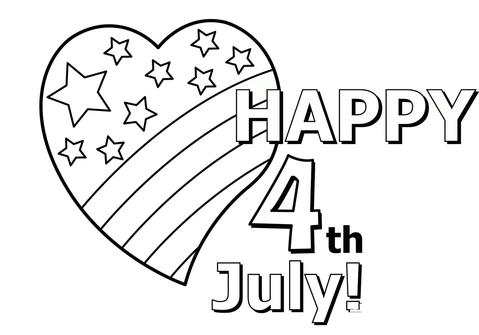 Free 4th Of July Coloring Pages - Easy Peasy and Fun | 1365x1953