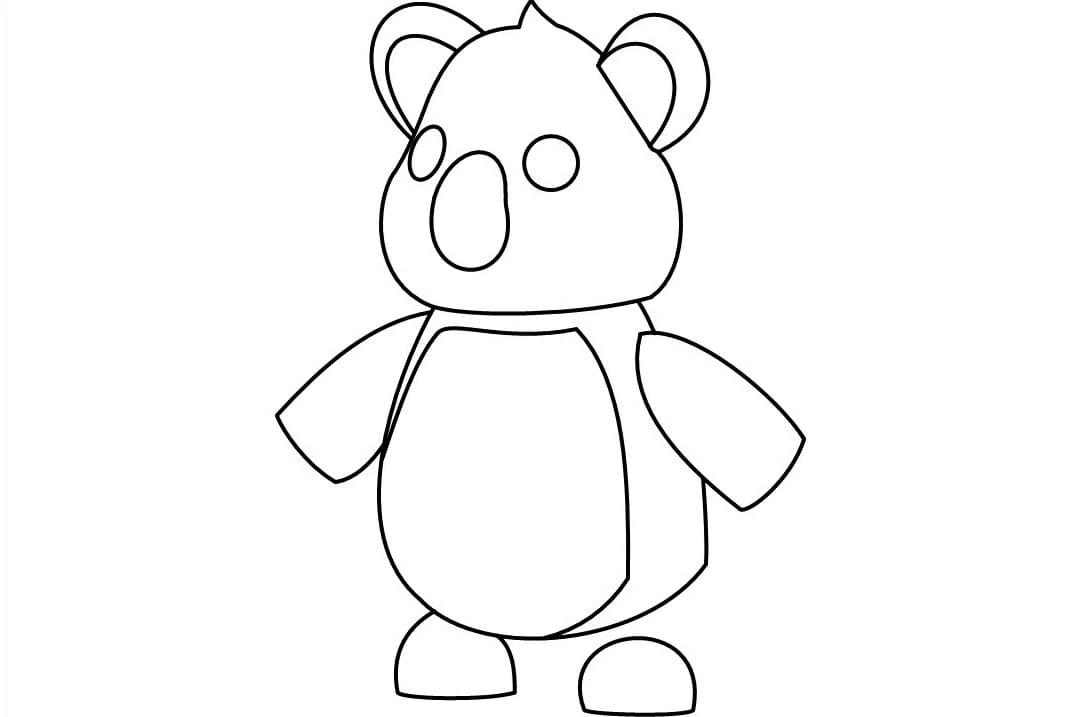 Adopt Me Coloring Pages 40 New Roblox Images Free Printable
