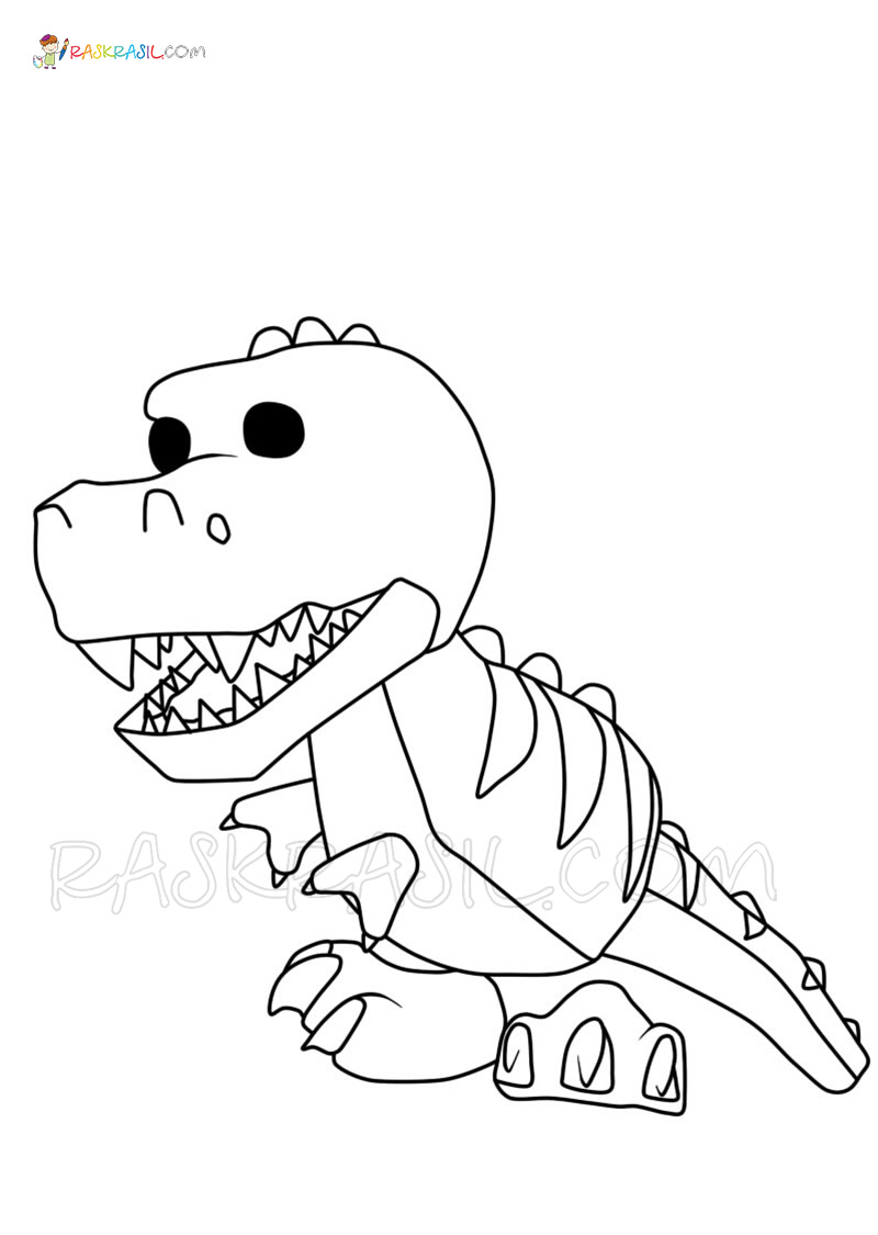 Adopt Me Coloring Pages   18 New Roblox images Free Printable