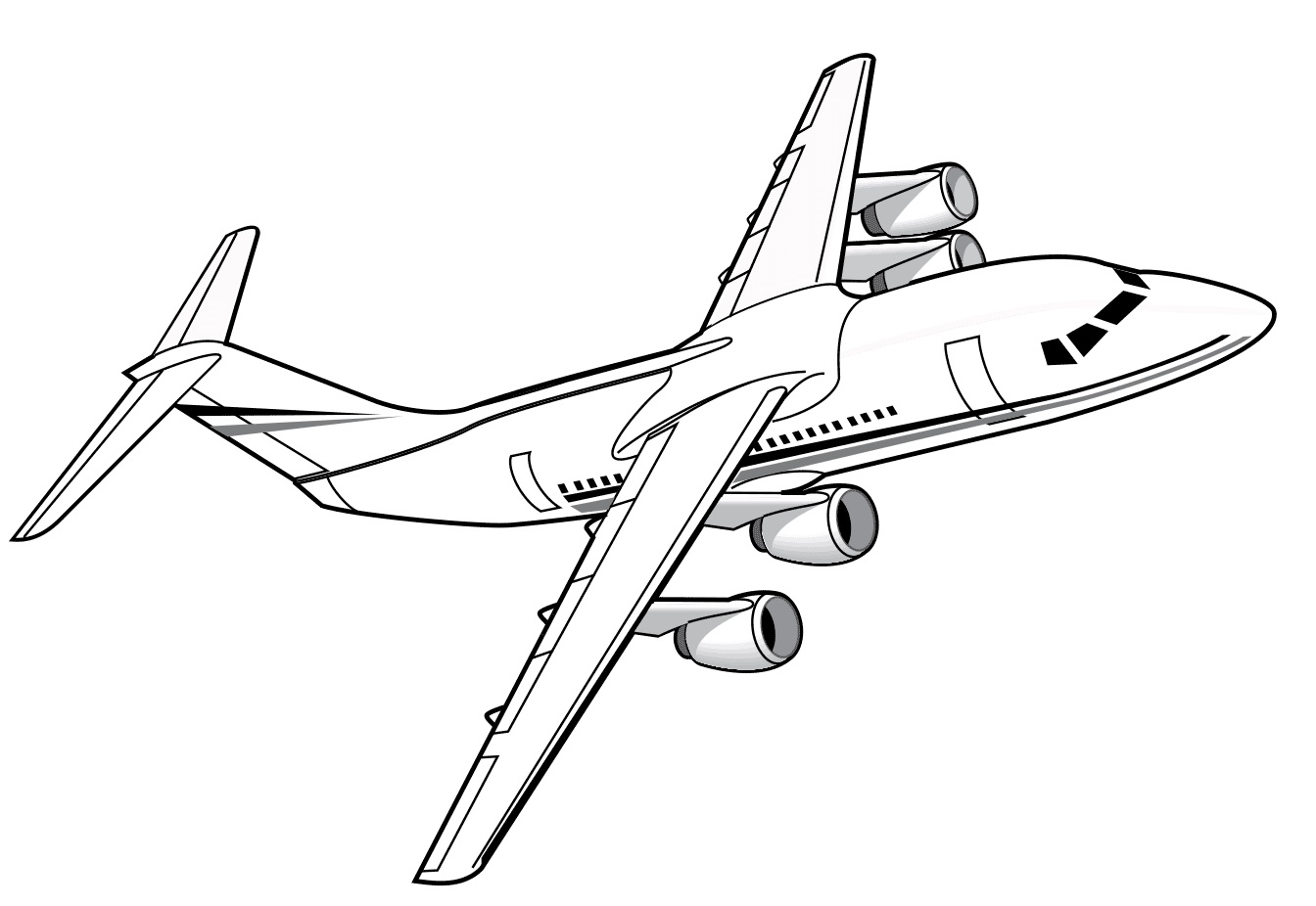 Airplanes Coloring Pages 100 Images Free Printable