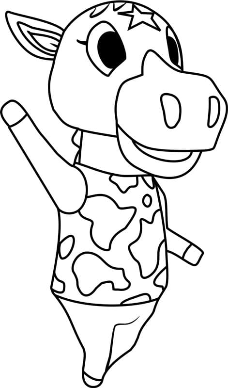 Animal Crossing Coloring Pages 100 Free Coloring Pages