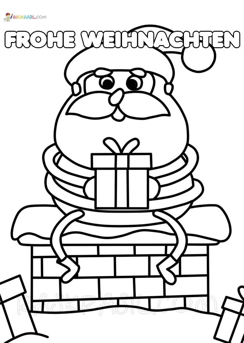 Ausmalbilder Weihnachten  29 neue Bilder zum kostenlosen Drucken