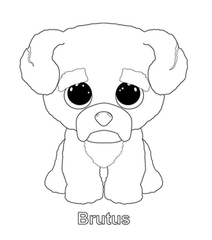 Beanie Boos Coloring Pages 35 Images Free Printable