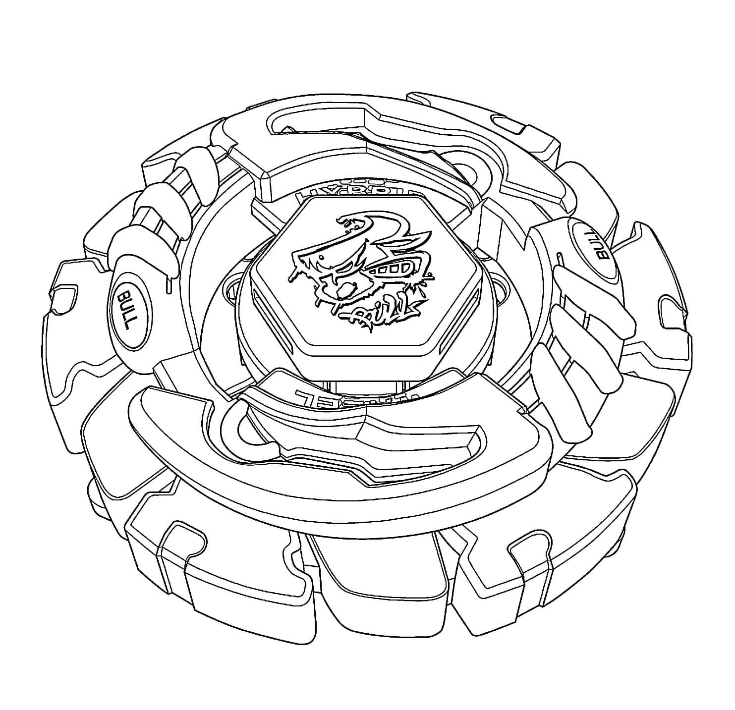 Beyblade Coloring Pages 57 Images Free Printable