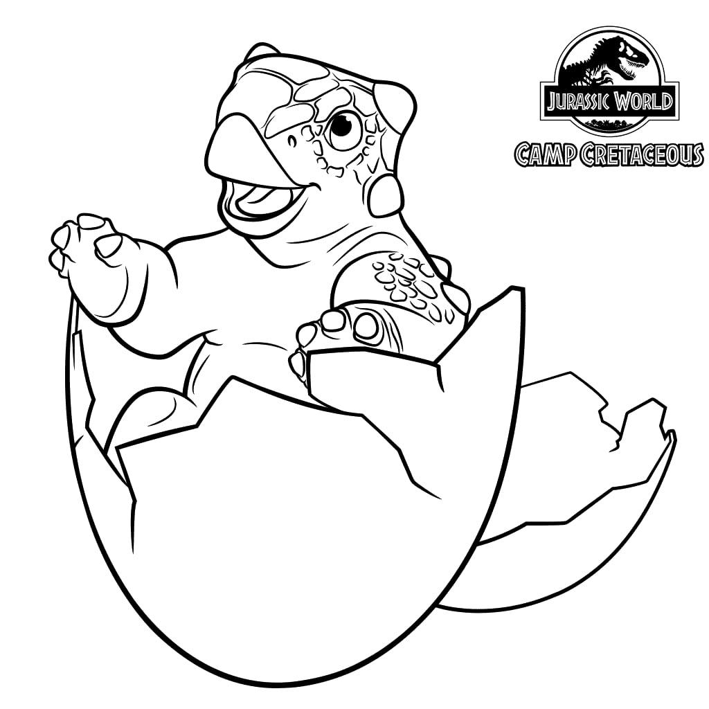 Dibujos Para Colorear Jurassic World Campamento Cretacico Logo de jurassic park dibujo para colorear. dibujos para colorear jurassic world