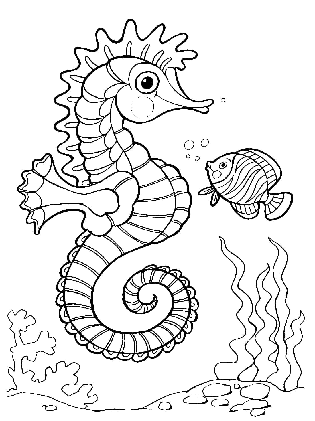 Ocean Coloring Pages 100 Pictures Free Printable