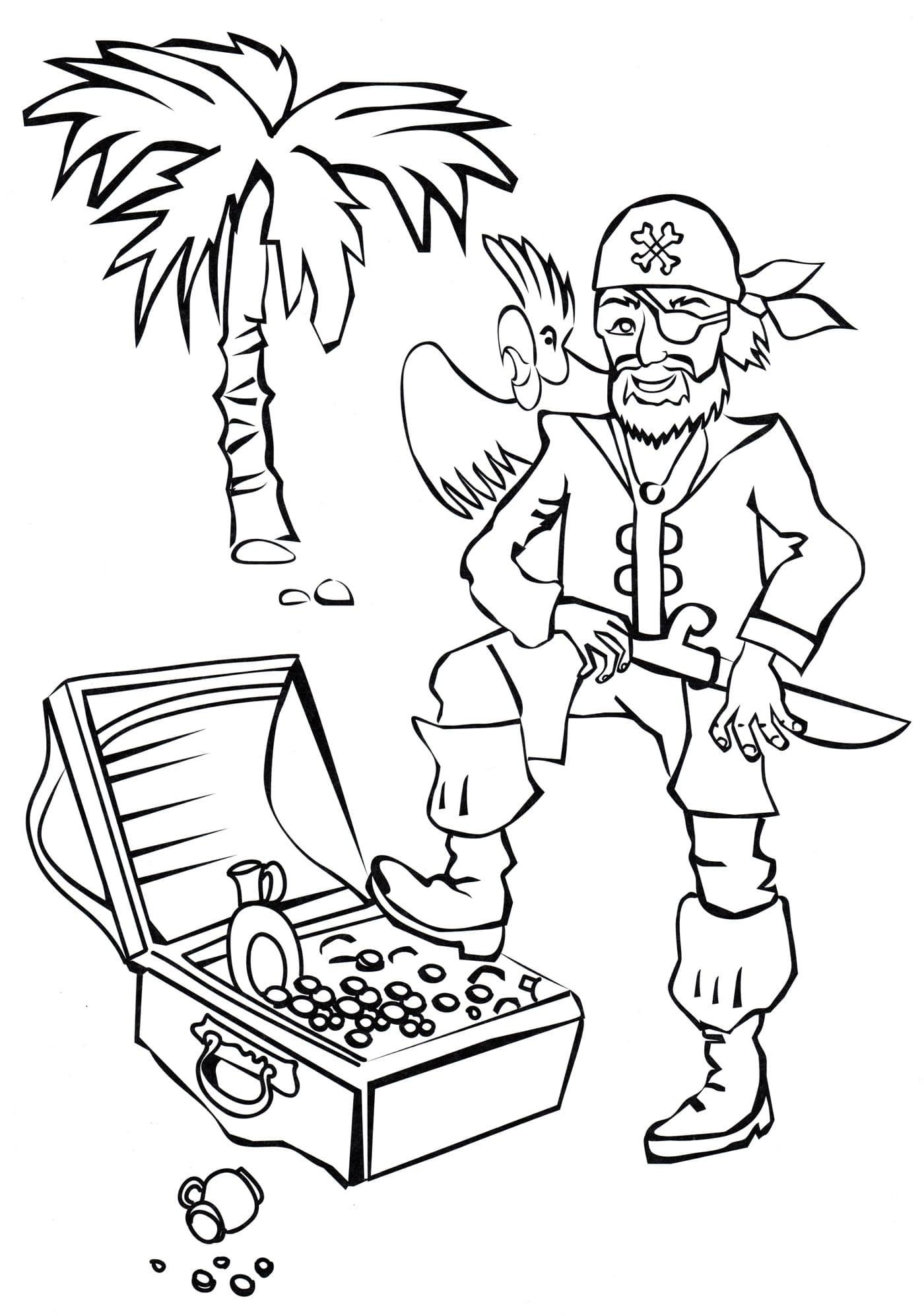 Ausmalbilder Piraten  26 Malvorlagen Kostenlos zum Ausdrucken