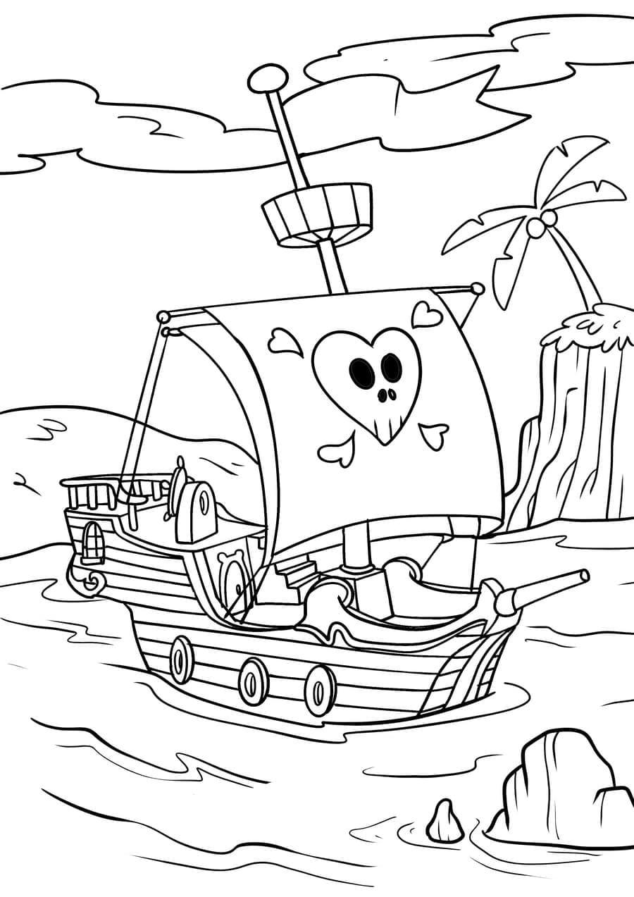 Ausmalbilder Piraten  27 Malvorlagen Kostenlos zum Ausdrucken