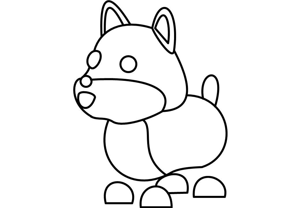 Disegni di Adopt Me da colorare - 40 nuove immagini Roblox Pets