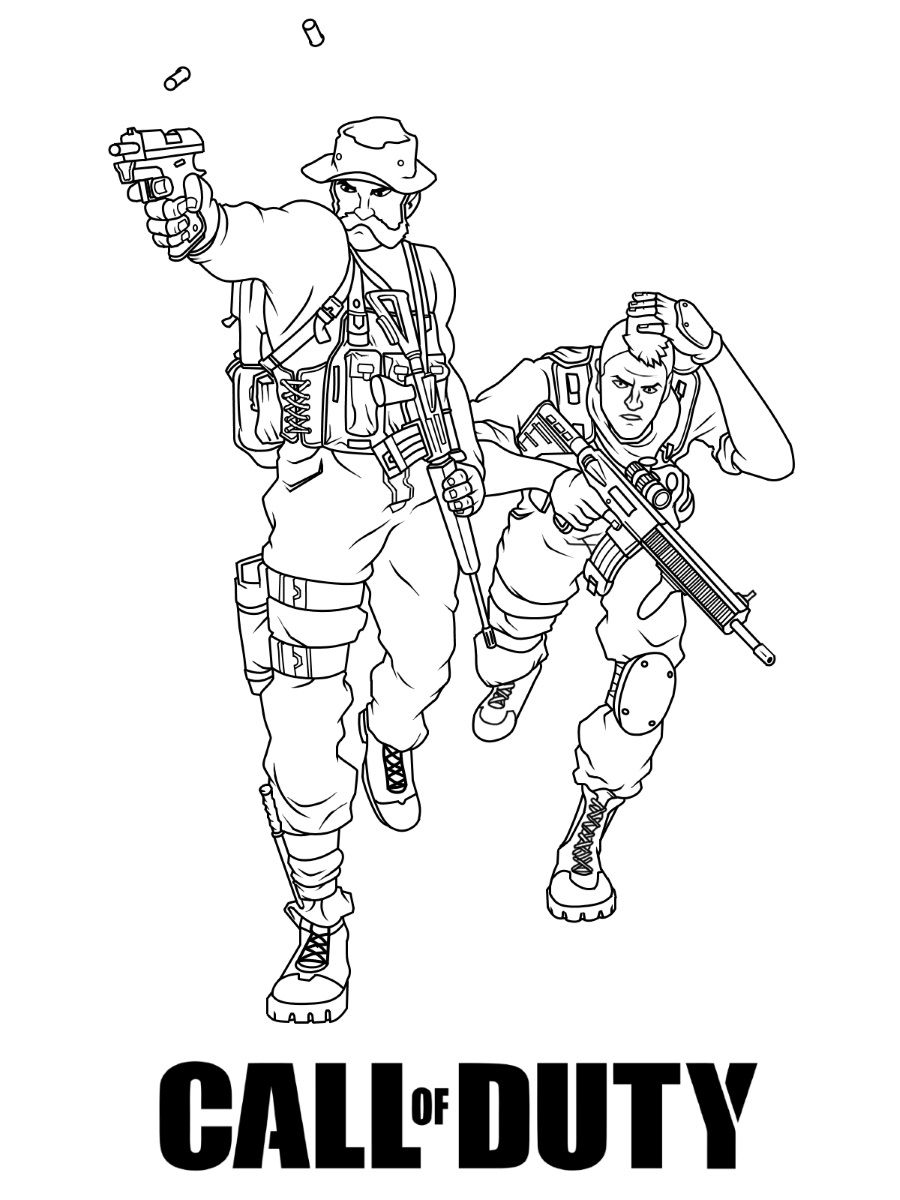 Featured image of post Call Of Duty Coloring Pages Free