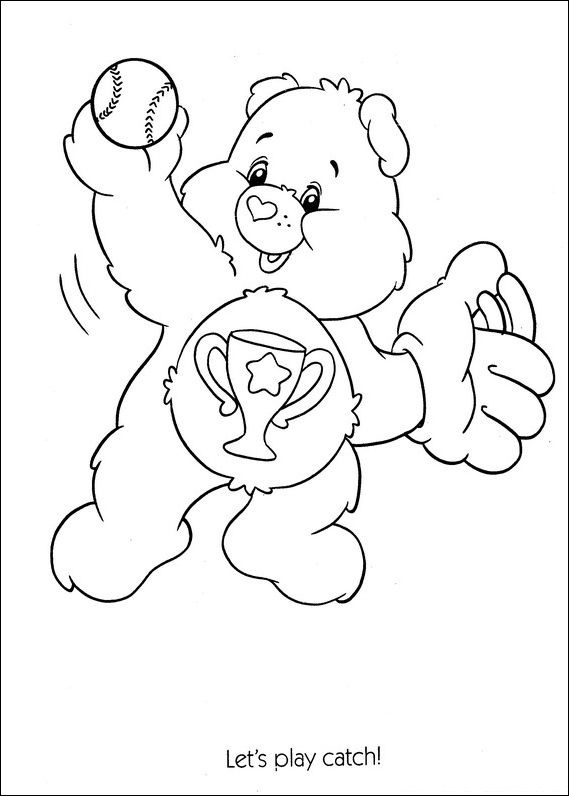Care Bears Coloring Pages 100 Images Free Printable