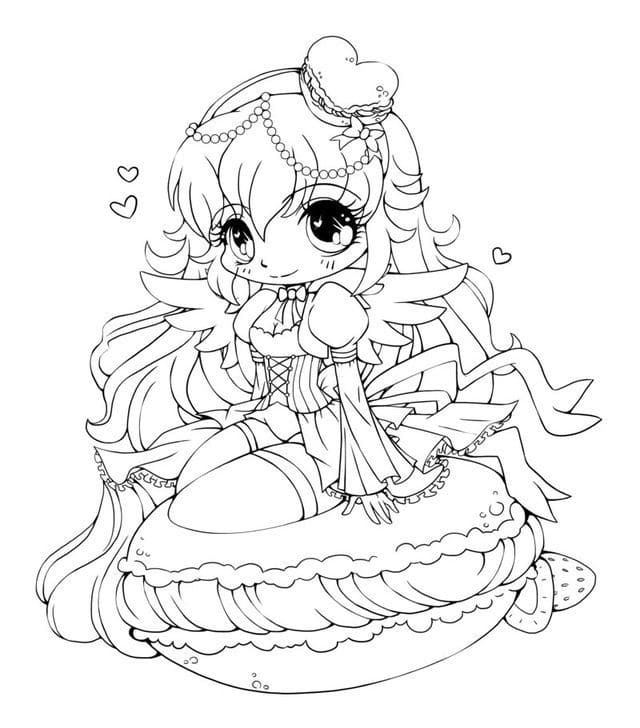 Chibi Coloring Pages 100 Pictures Free Printable