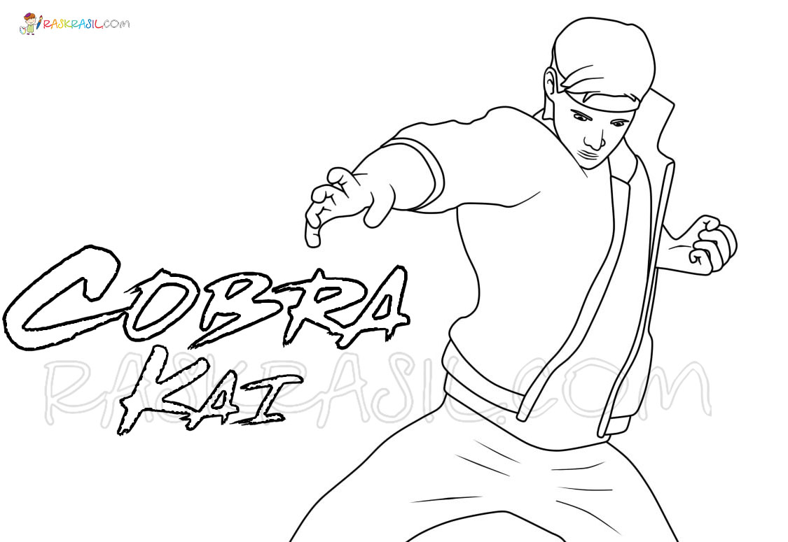 Cobra Kai Coloring Pages New Images Free Printable