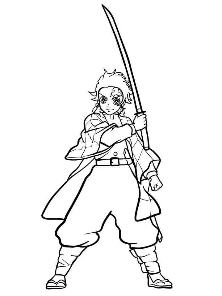 Demon Slayer Coloring Pages New Images Free Printable