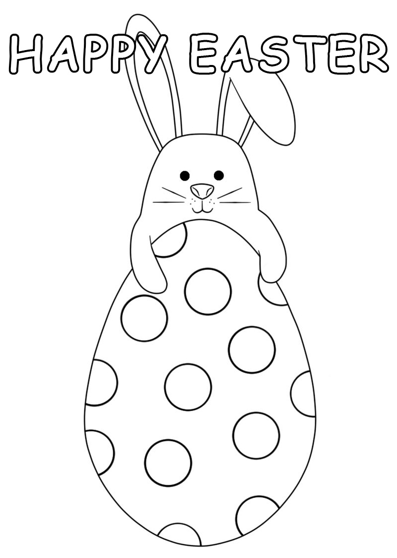Easter Coloring Pages 70 Images Free Printable