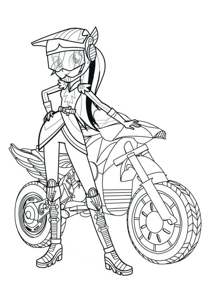 Equestria Girls Coloring Pages 100 Pictures Free Printable