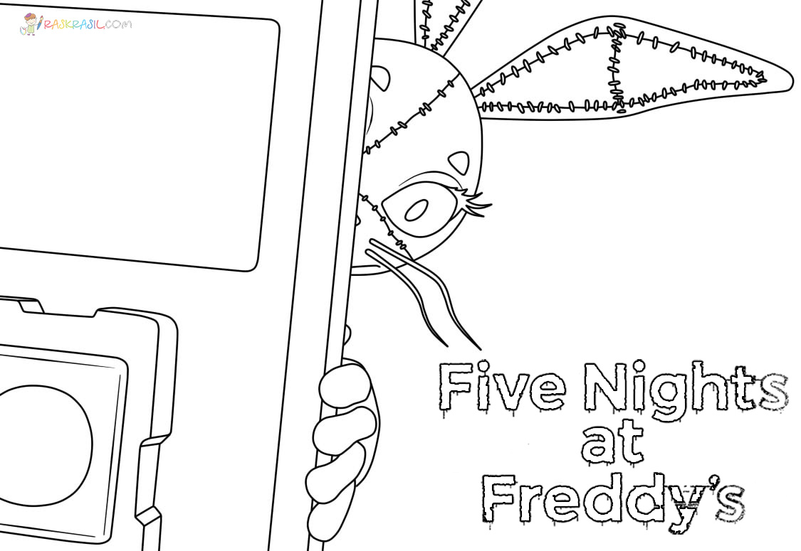 Five Nights at Freddy's Coloring Pages   32 Pictures Free Printable