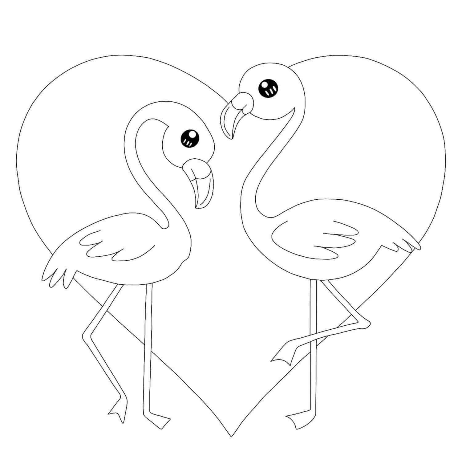 Ausmalbilder Flamingo  28 Malvorlagen Kostenlos zum Ausdrucken