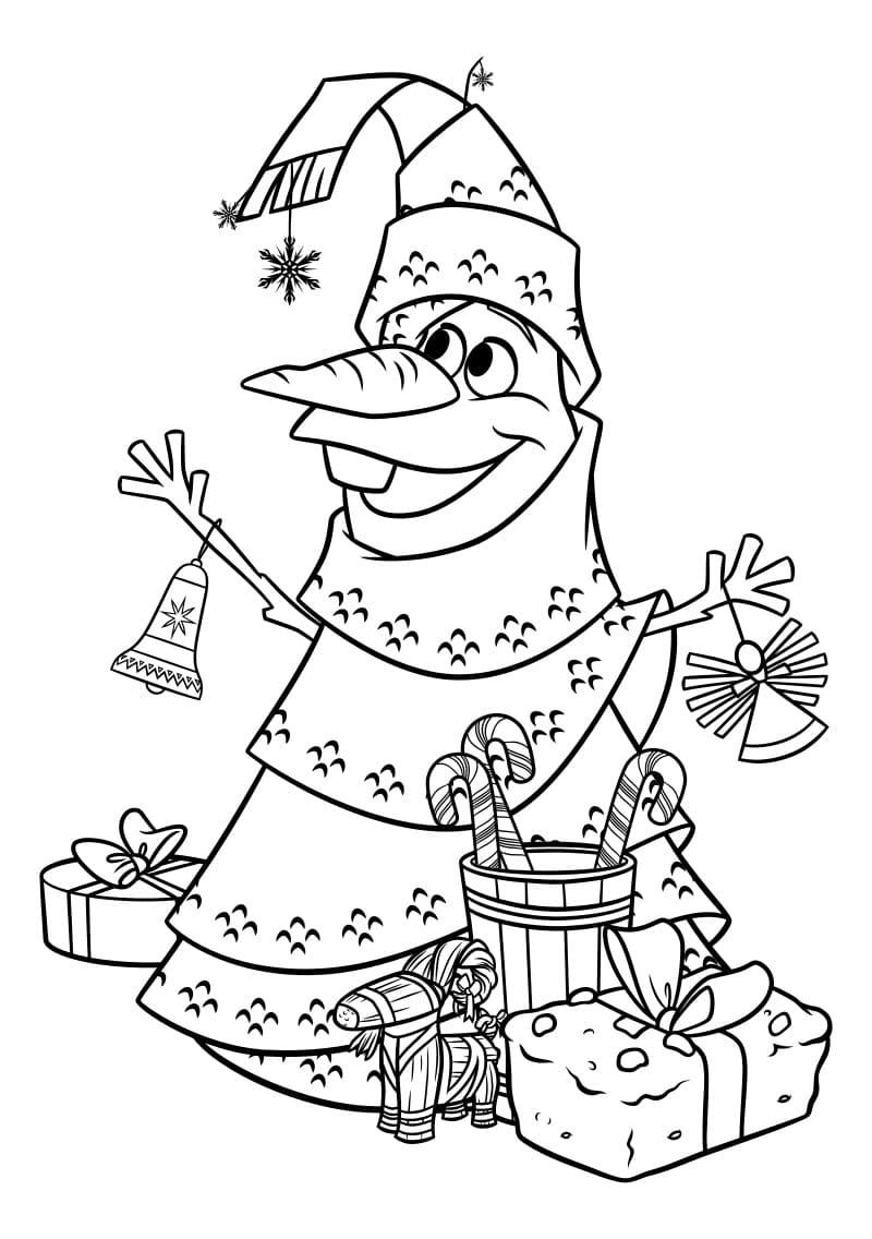 Ausmalbilder Weihnachten Frozen   Malvorlagen kostenlos zum drucken