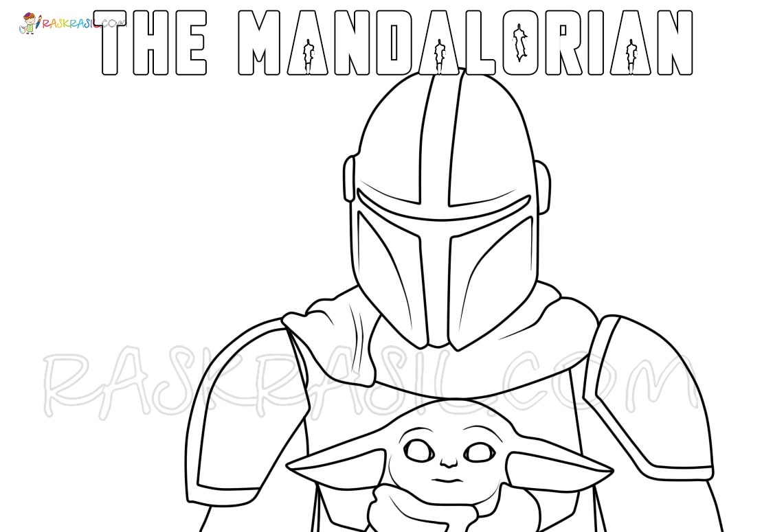 Baby Yoda Coloring Pages 50 Best Pictures Free Printable
