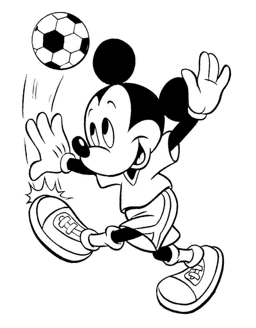 Ausmalbilder Micky Maus  26 Malvorlagen Kostenlos zum Ausdrucken
