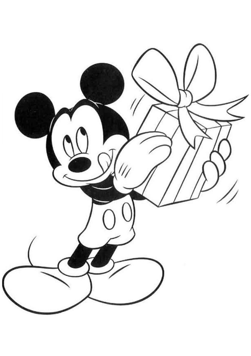 Ausmalbilder Micky Maus  15 Malvorlagen Kostenlos zum Ausdrucken