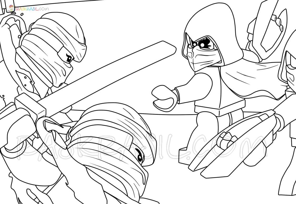 ninjago ausmalbilder nya  coloring and drawing