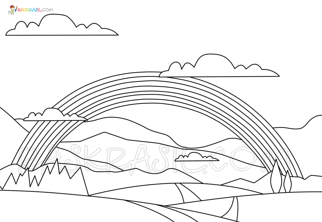 Rainbow Coloring Pages 70 Coloring Pages Free Printable