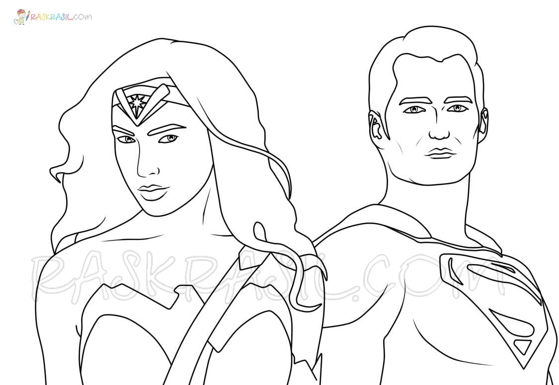 Ausmalbilder Superhelden  27 Malvorlagen Kostenlos zum Ausdrucken
