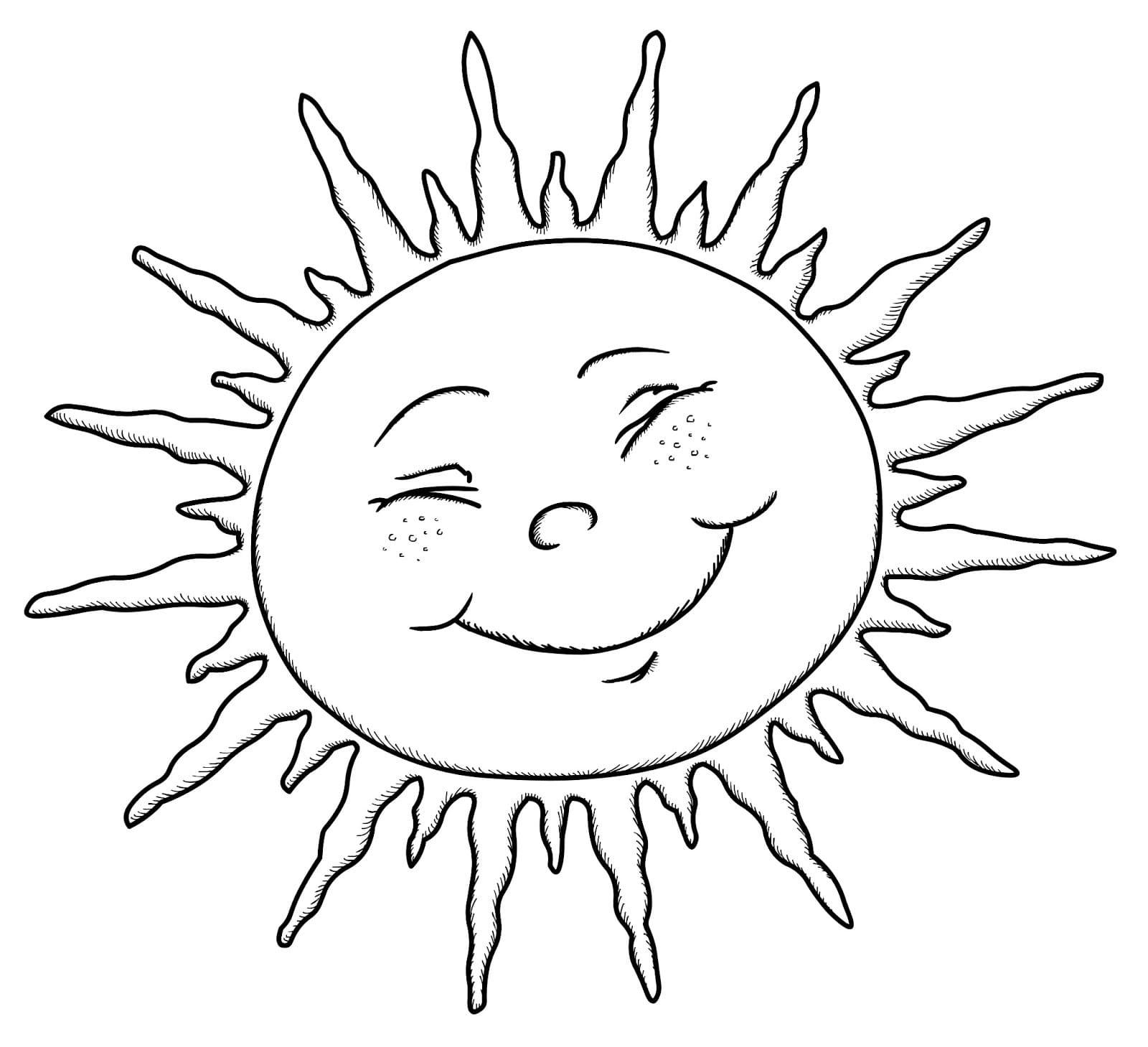 Ausmalbilder Sonne  15 Malvorlagen Kostenlos zum Ausdrucken