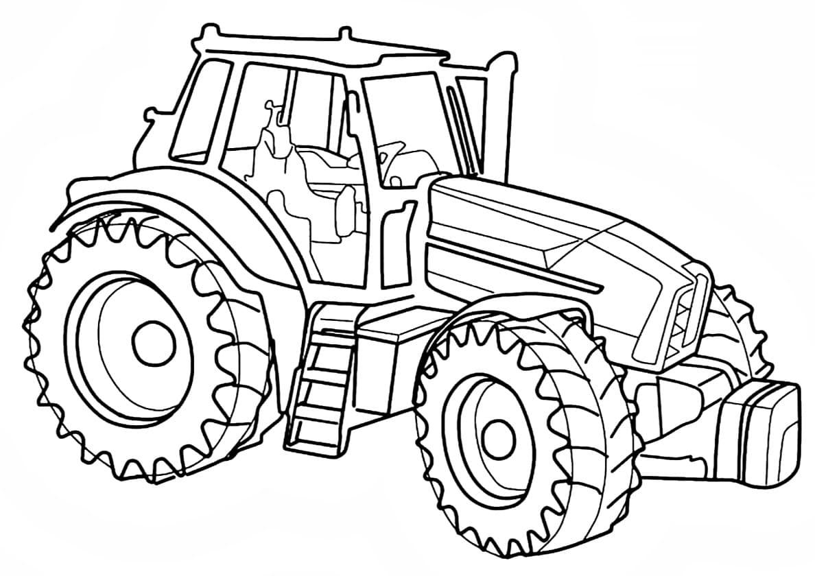 Ausmalbilder Traktor  23 Malvorlagen Kostenlos zum Ausdrucken