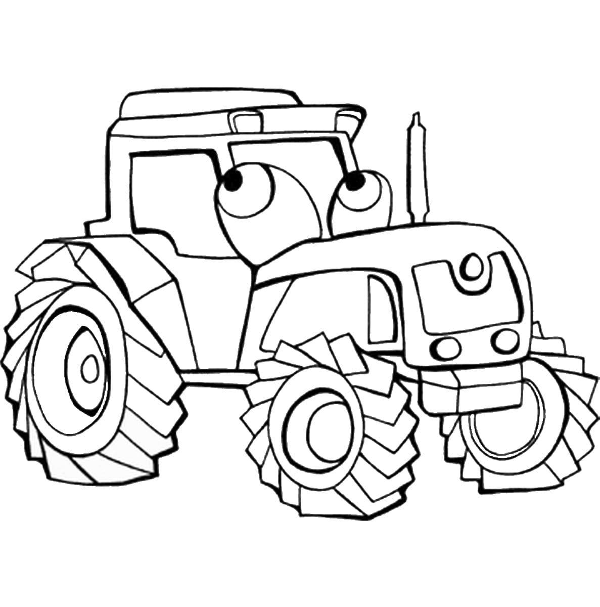 Ausmalbilder Traktor  21 Malvorlagen Kostenlos zum Ausdrucken