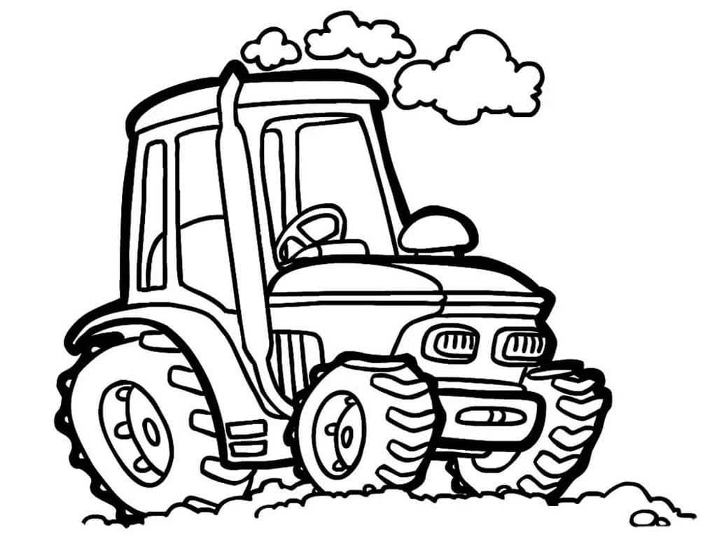 Ausmalbilder Traktor  28 Malvorlagen Kostenlos zum Ausdrucken