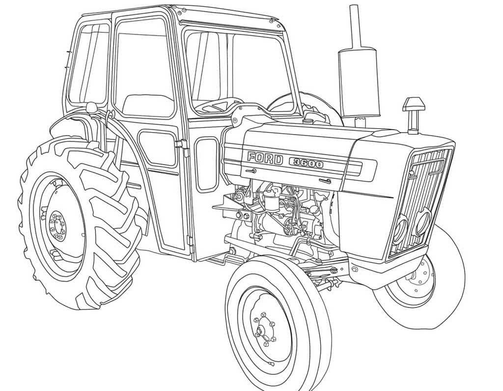 Ausmalbilder Traktor  16 Malvorlagen Kostenlos zum Ausdrucken