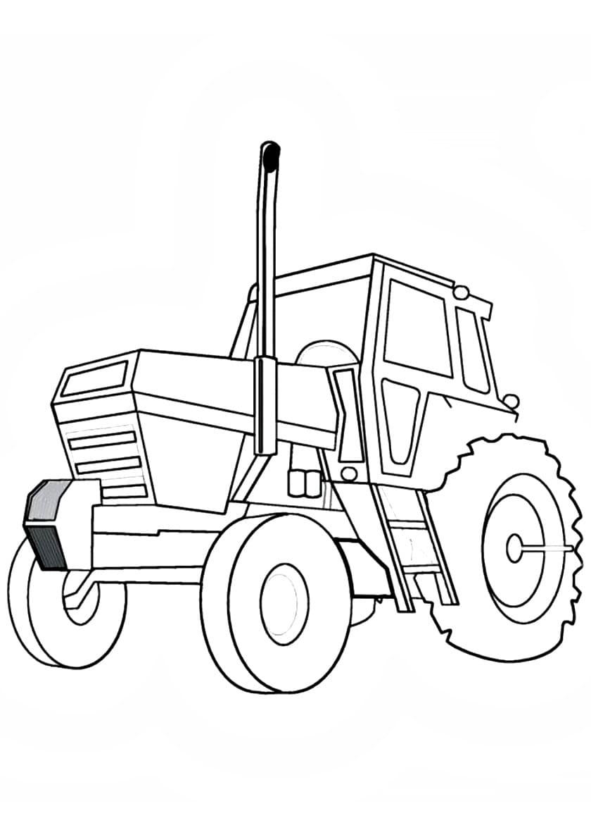 ausmalbilder traktor schnee  malvorlage schneeglockchen