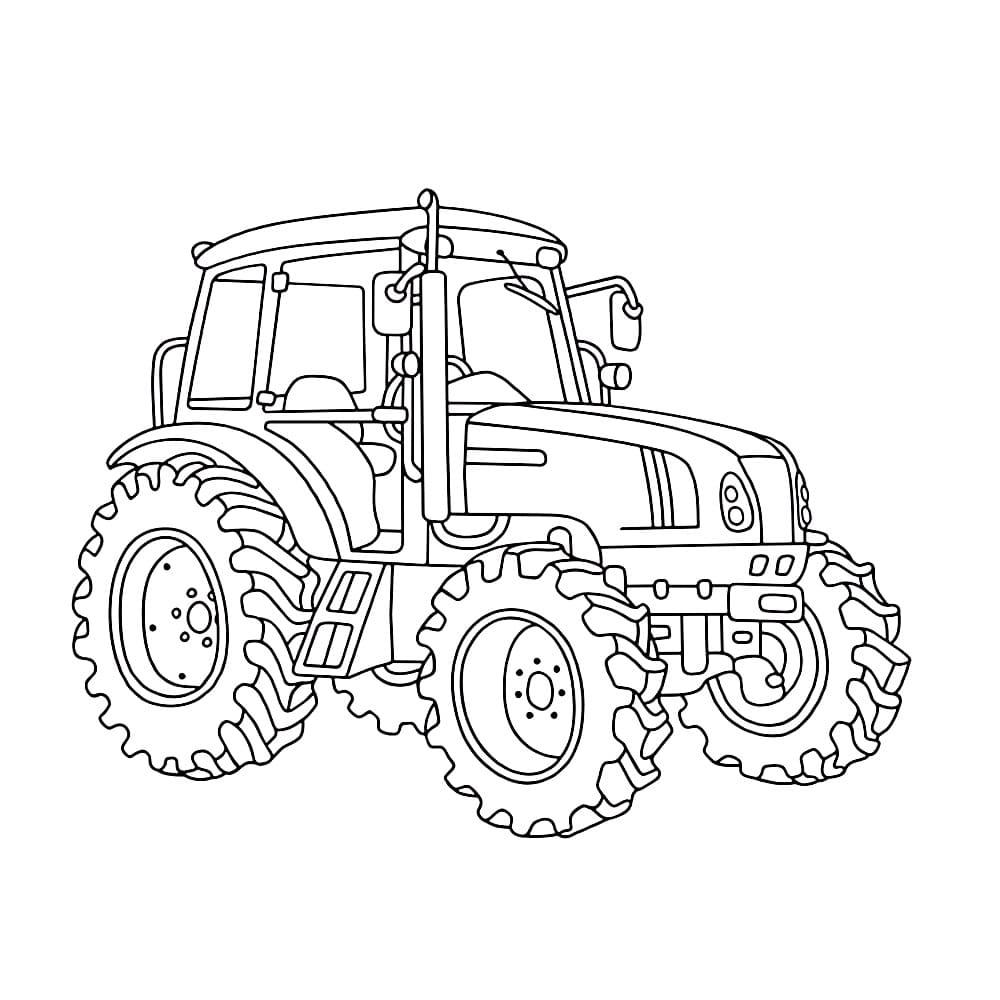 malvorlagen trecker gratis  ausmalbilder traktor