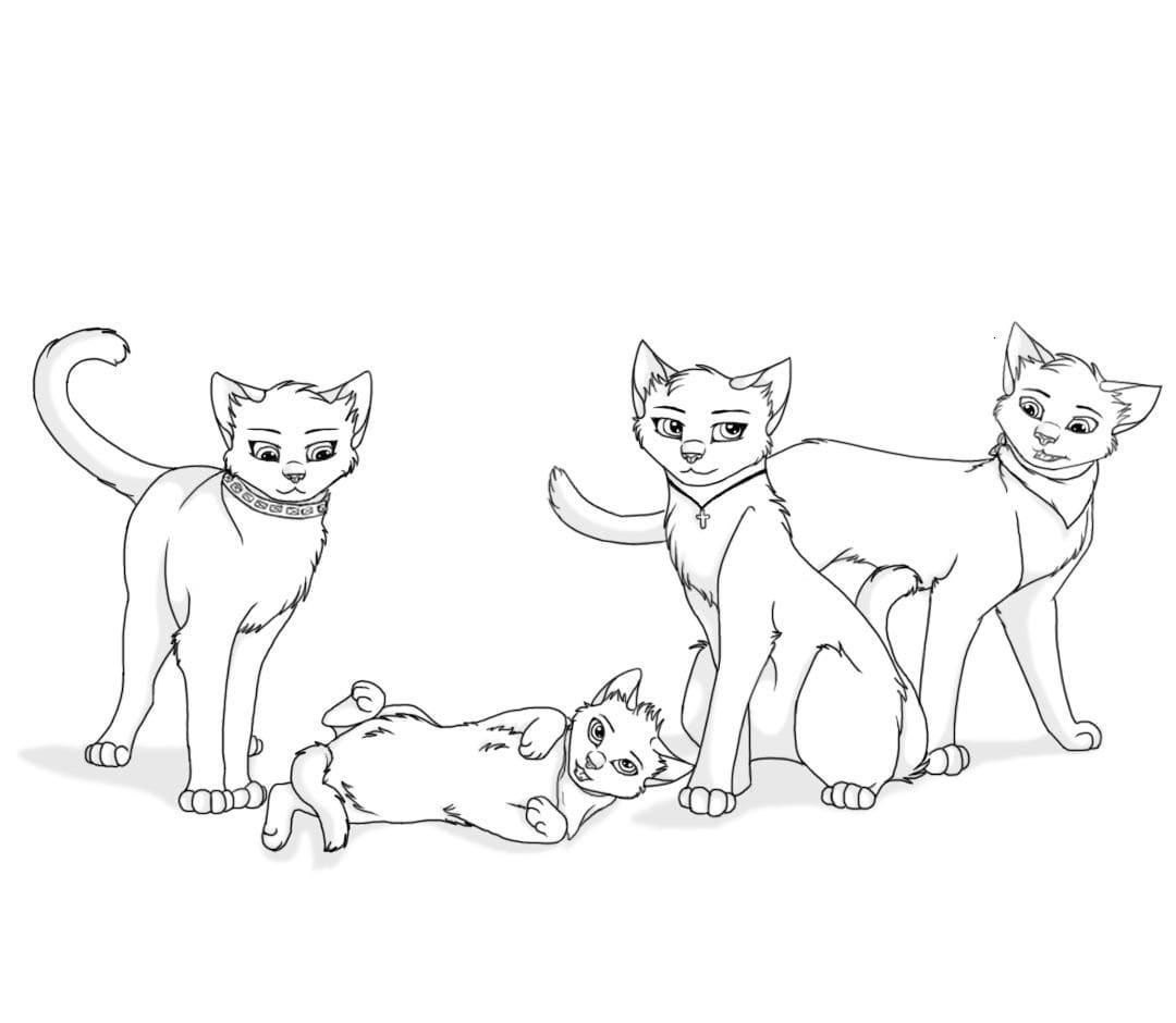 Ausmalbilder Warrior Cats  29 Malvorlagen Kostenlos zum Ausdrucken