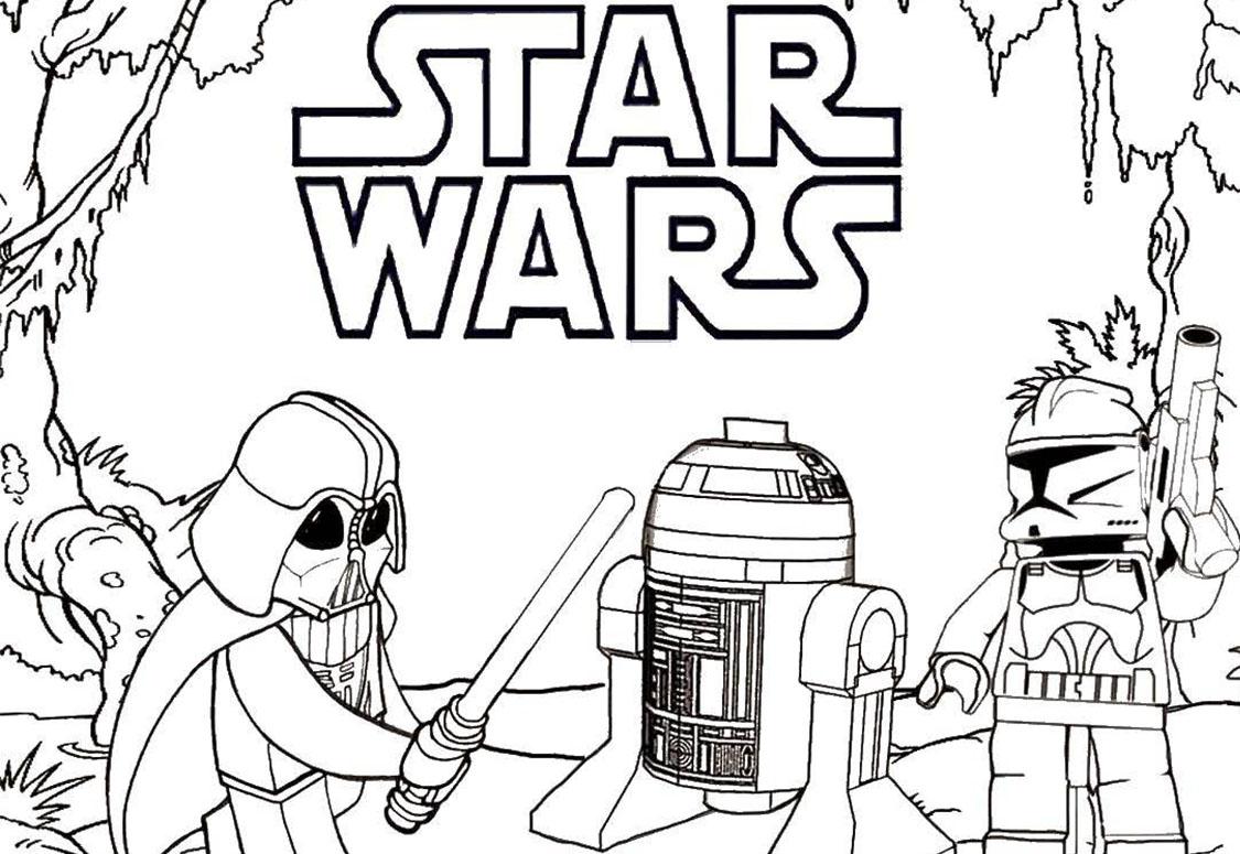 Ausmalbilder Star Wars 120 Malvorlagen Zum Kostenlosen Drucken