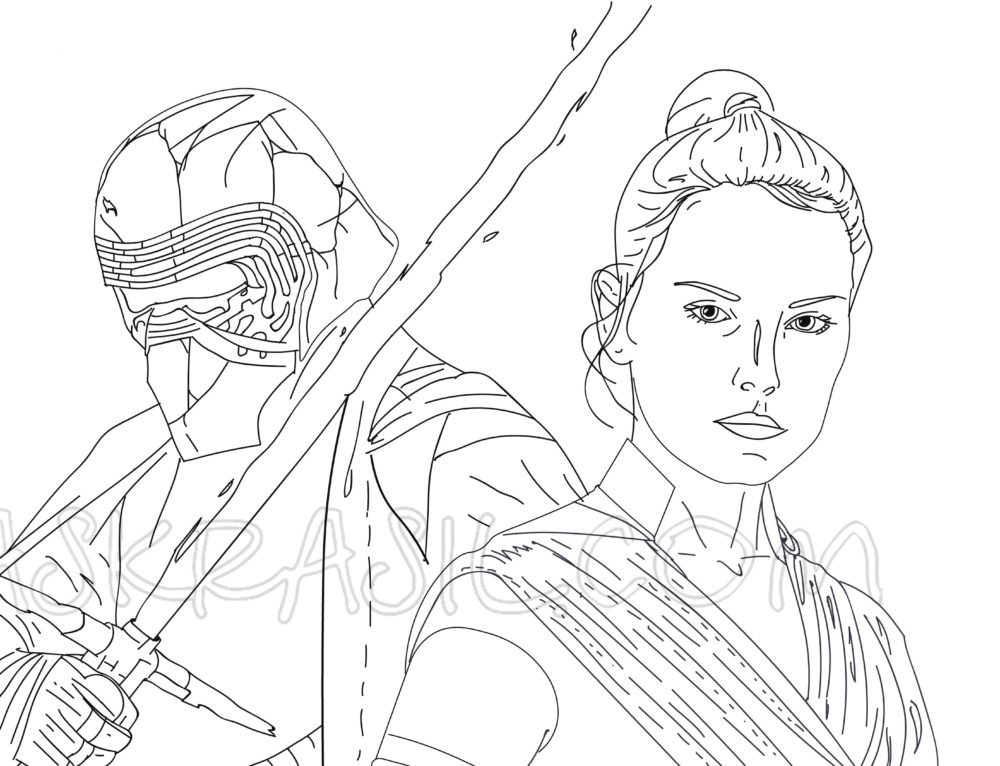Star Wars Coloring Pages. 110 Free New Printable Images