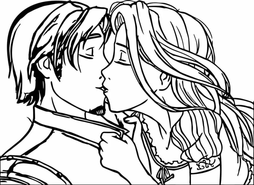 Couples Coloring Pages 100 Images Free Printable
