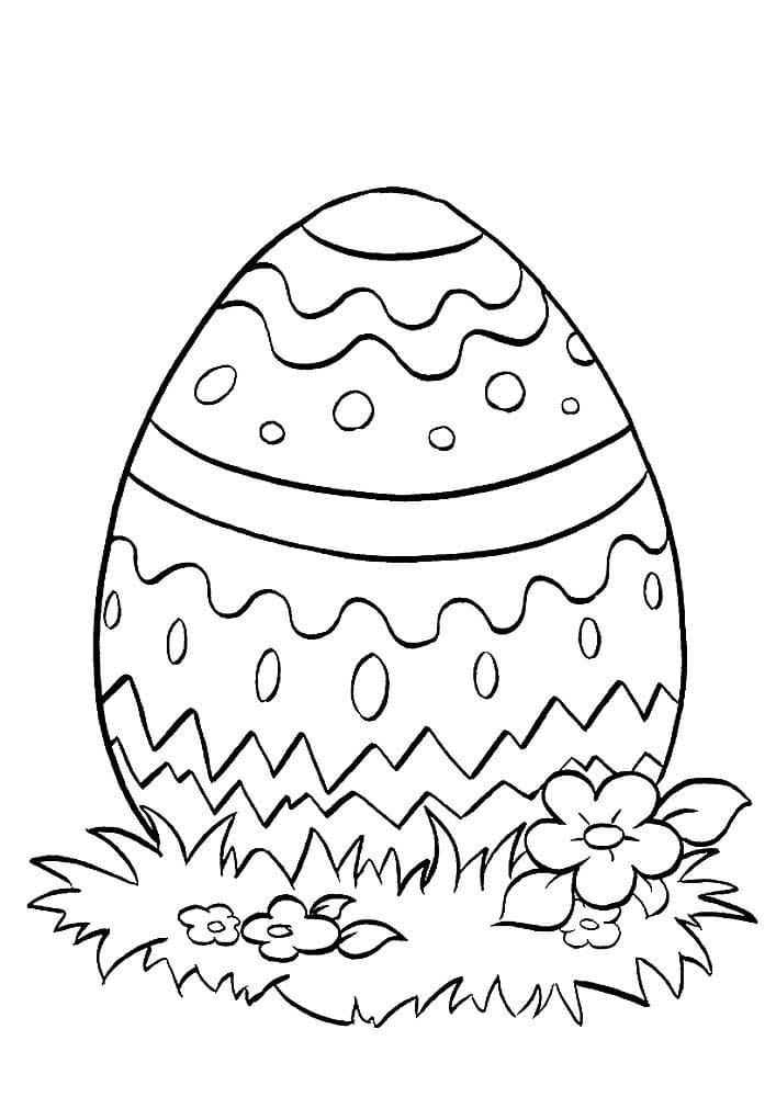 Disegni Di Uova Di Pasqua Da Colorare 100 Immagini Da Stampare