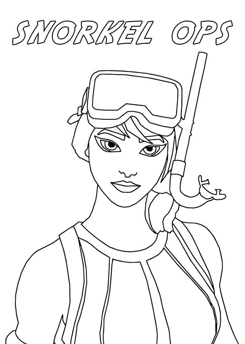 Fortnite Coloring Pages. 140 Best Images Free Printable