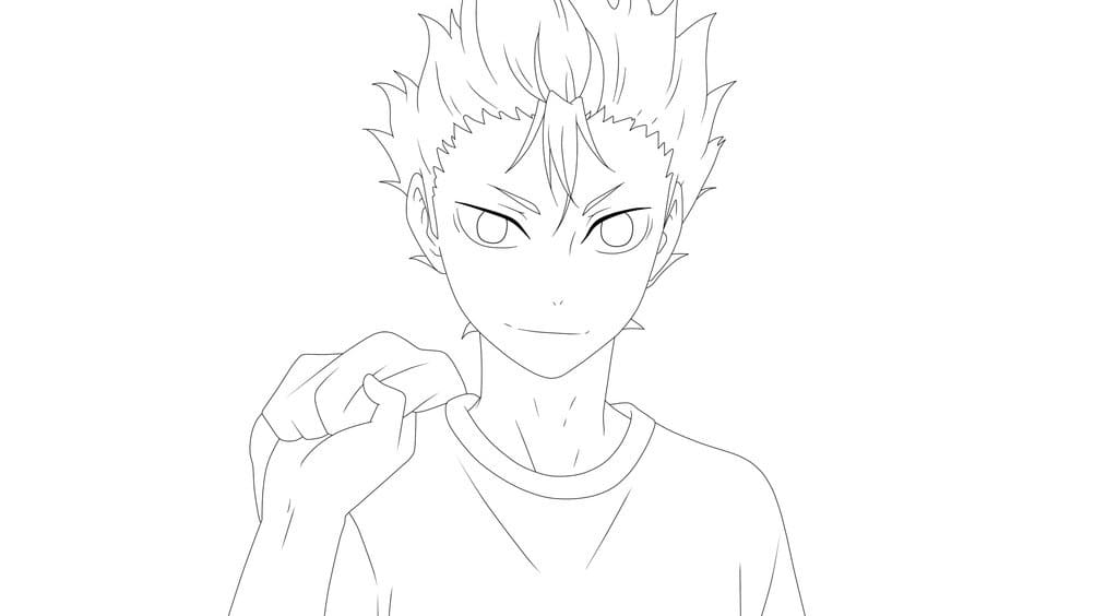 Haikyuu Coloring Pages 50 Images Free Printable