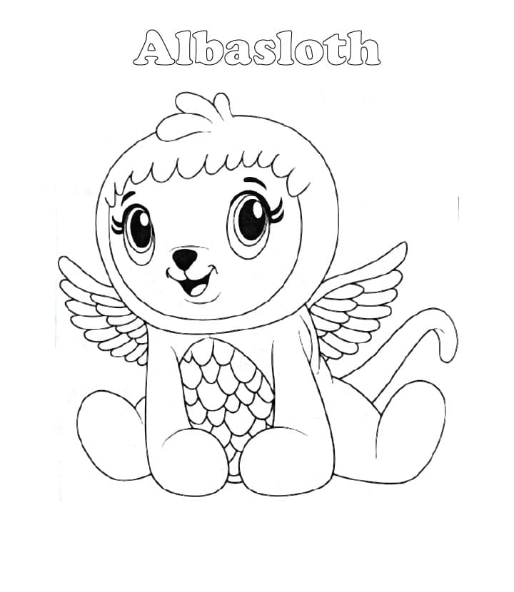 Hatchimals Coloring Pages. 60 Images Free Printable