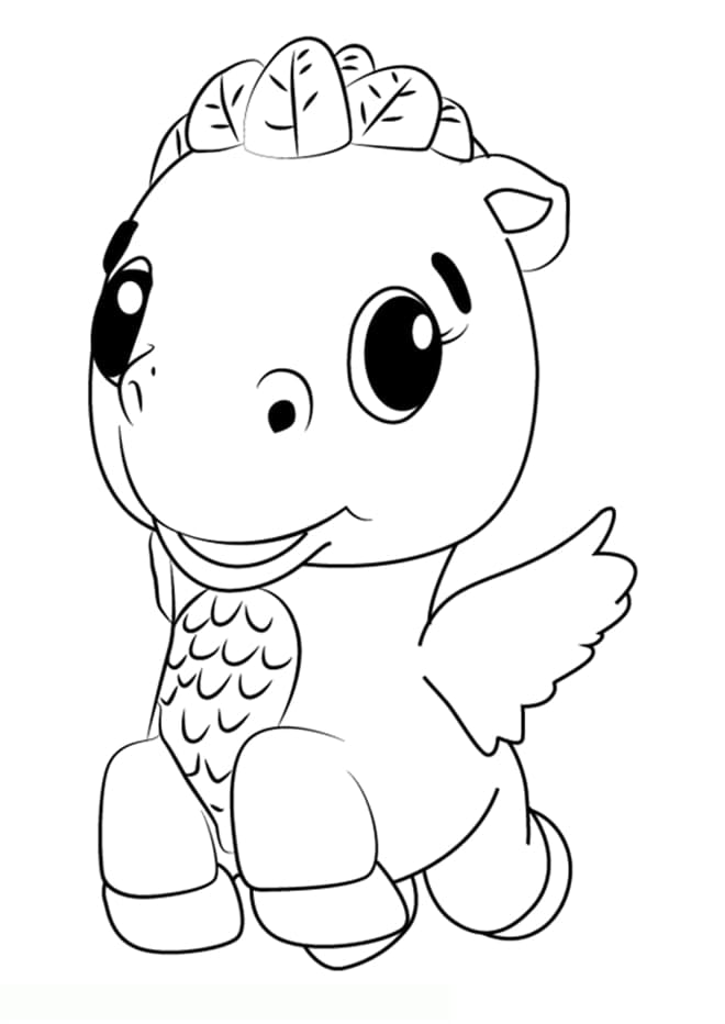 - Hatchimals Coloring Pages. 60 Images Free Printable