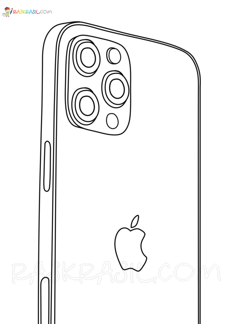 Iphone Coloring Pages Free Printable New Images