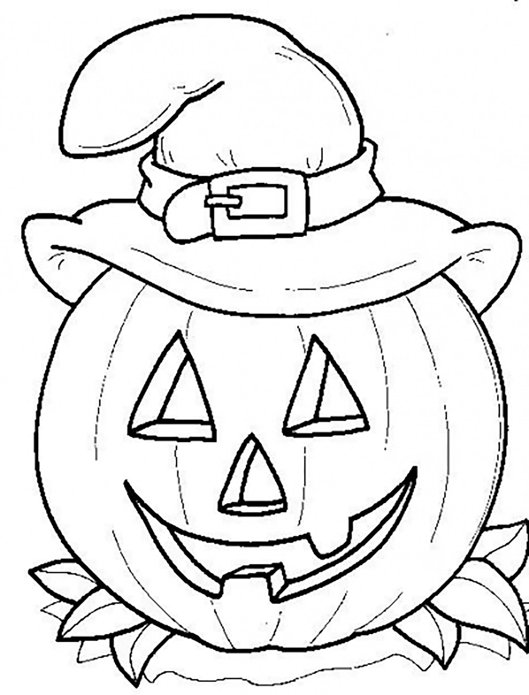Zucca Halloween Da Colorare 100 Nuove Immagini Stampabili Gratuite