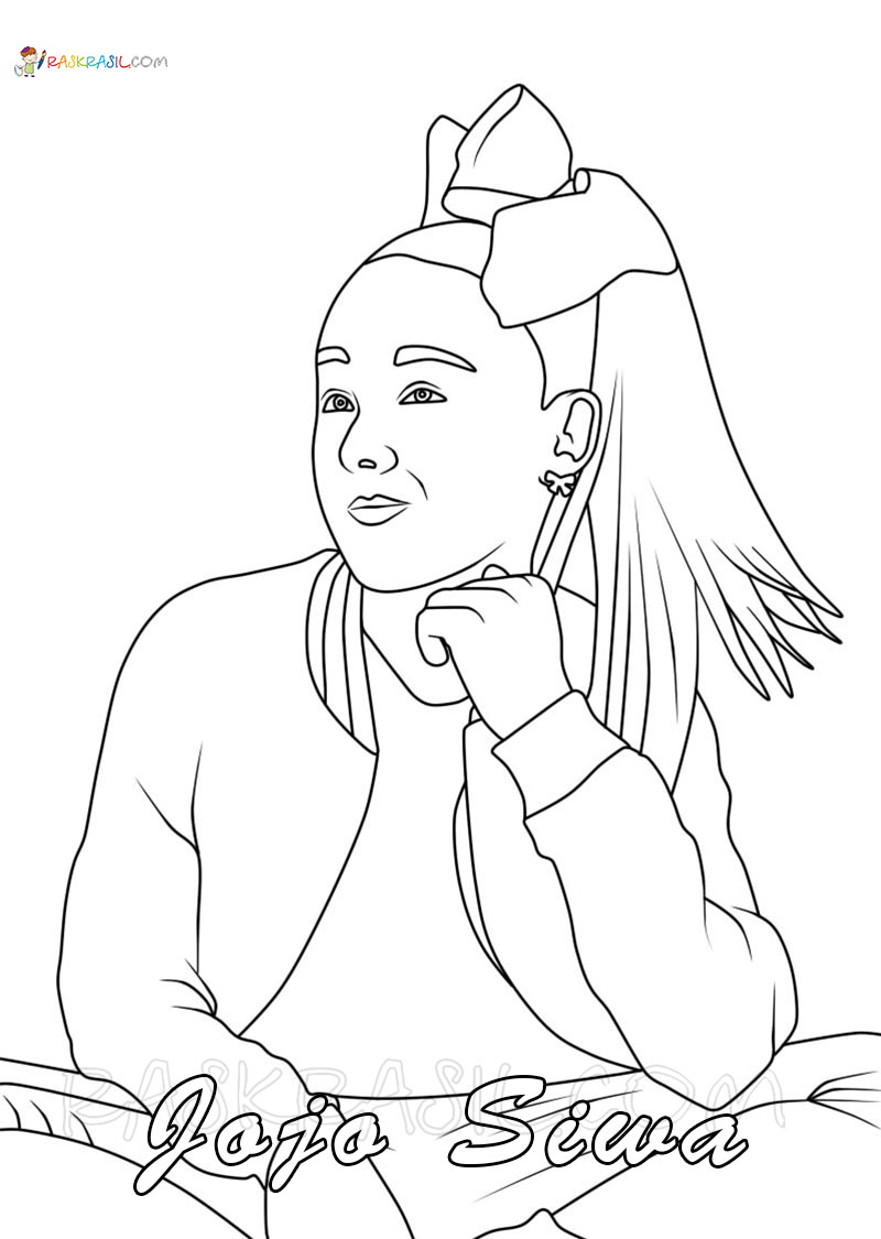 Draw Jojo Siwa Coloring Pages Super Coloring Pages